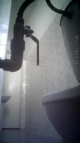 Hidden Camera in the Women's Toilet in Clinic [UltraHD/2K 1280P]
