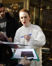 Julianne Moore - Out in Paris April 15 2019