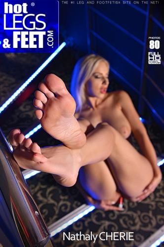 More Than A Lap Dance - Striptease Babe Sucks Her Sexy Toes Video with Nathaly Cherie