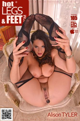 Erotica Antique: Sexy Calves Covered in Red Latex High Heels Video with Alison Tyler