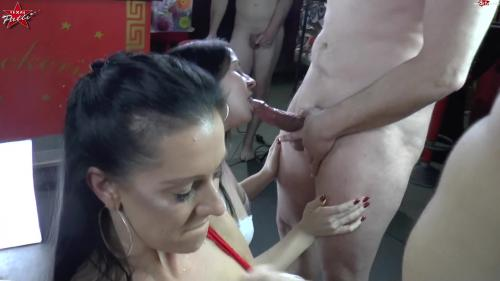 TexasPatti - Die geile Schwanzparade. 2 Chicks - Many Dicks [FullHD 1080P]