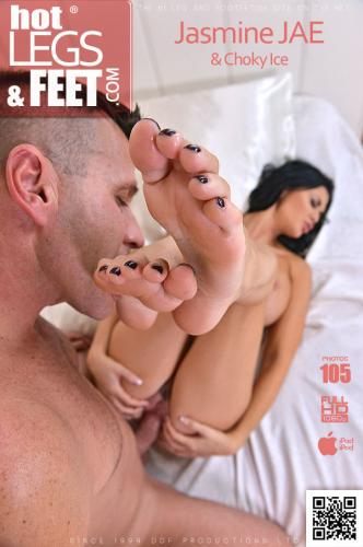 Soulful Footjob - Busty Babe Gives Stud Luscious Footjob Video with Choky Ice & Jasmine Jae