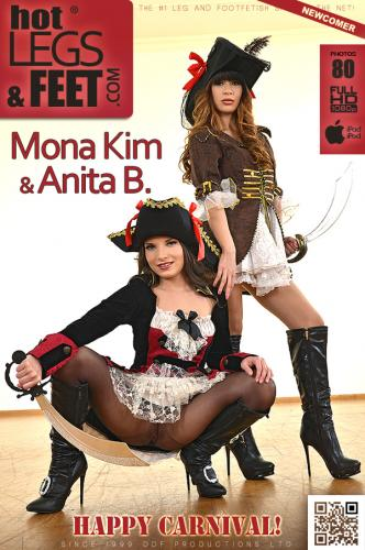 Pirates Prefer Pantyhose! Video with Anita B.& Mona Kim