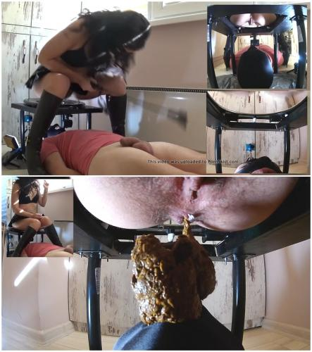 Black mistress scat slave