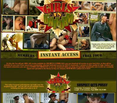 HotGirlsInUniform (SiteRip) Image Cover