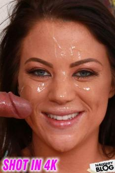 Jesse Loads Monster Facials - Audrey Miles