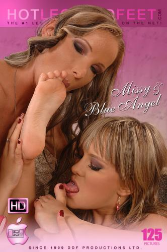 Stuffed with toe! Video with Blue Angel & Missy