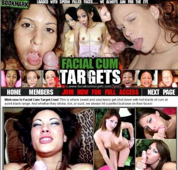 FacialCumTargets (SiteRip) Image Cover