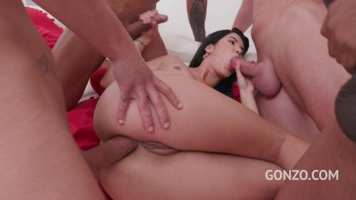 Lady Dee swallows four loads after balls deep DP fucking SZ2089 [HD 720P]